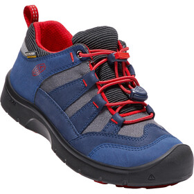 Keen Hikeport WP Shoes Kinder dress blues/firey red